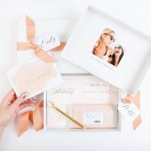 Bridesmaid Proposal Ideas Cookies Box